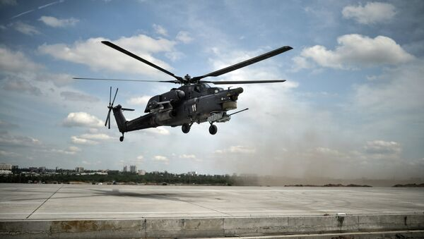 Helicóptero Mi-28 - Sputnik Mundo