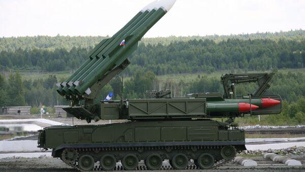 Sistema de misiles antiaéreos Buk-M2E - Sputnik Mundo