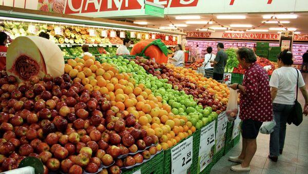 Supermercado en Argentina - Sputnik Mundo
