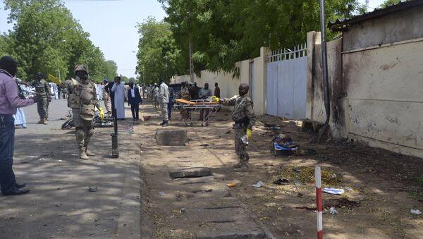 Atentado en Yamena, República de Chad - Sputnik Mundo
