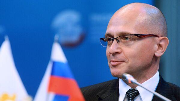 Serguéi Kirienko, director general de la corporación estatal Rosatom - Sputnik Mundo