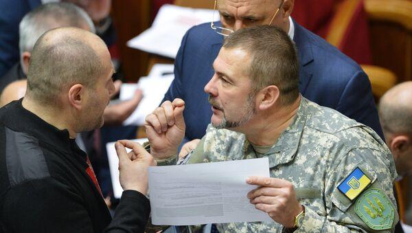 Yuri Bereza, miembro del partido ucraniano Frente Popular - Sputnik Mundo
