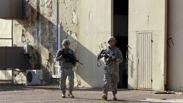Soldados estadounidenses en Irak (archivo) - Sputnik Mundo