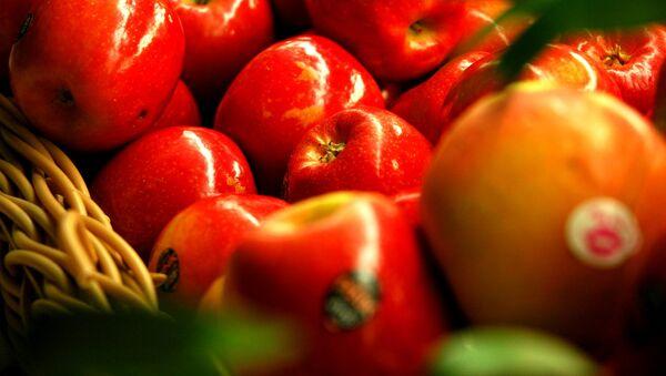Manzanas (imagen referencial) - Sputnik Mundo