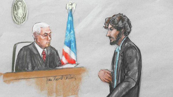 Dzhokhar Tsarnaev ante el tribunal - Sputnik Mundo