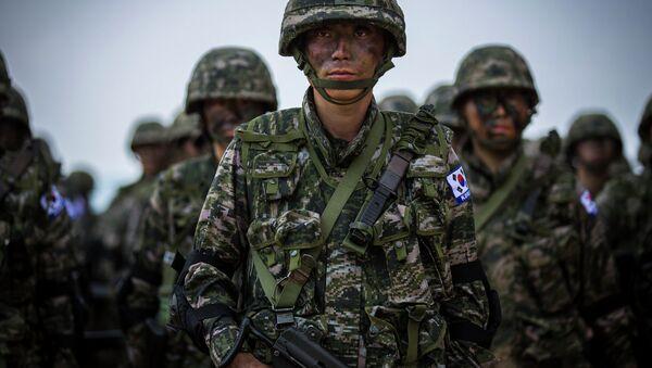 Marines surcoreanos - Sputnik Mundo