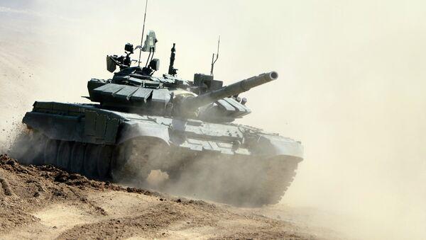 Tanque T-72B3 - Sputnik Mundo