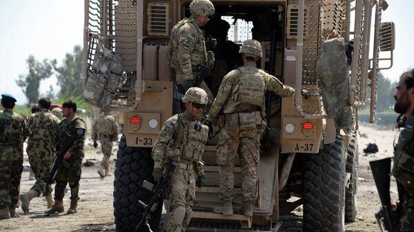 Soldados estadounidenses en Afganistán - Sputnik Mundo