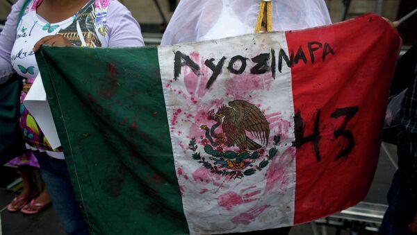 Desaparición de estudiantes en México - Sputnik Mundo