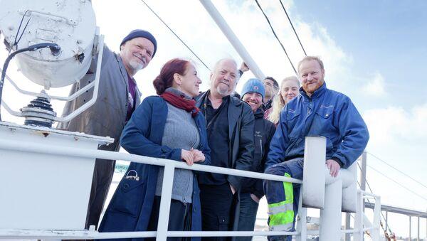 Activistas de la tercera Flotilla de la Libertad - Sputnik Mundo