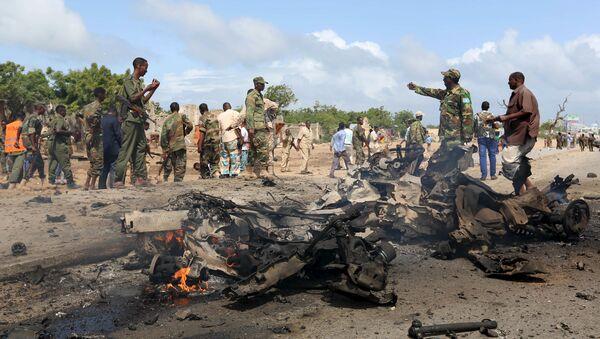 Ataques terroristas del grupo radical Al Shabab en Somalia - Sputnik Mundo