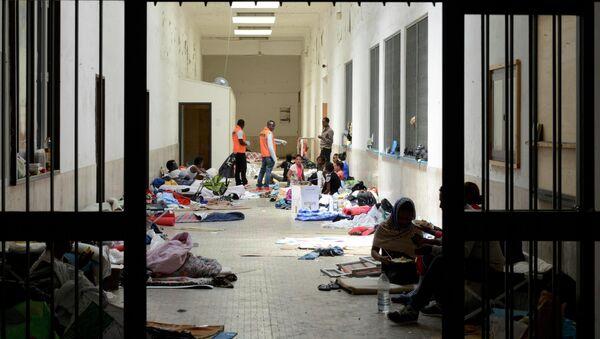 Refugiados africanos - Sputnik Mundo