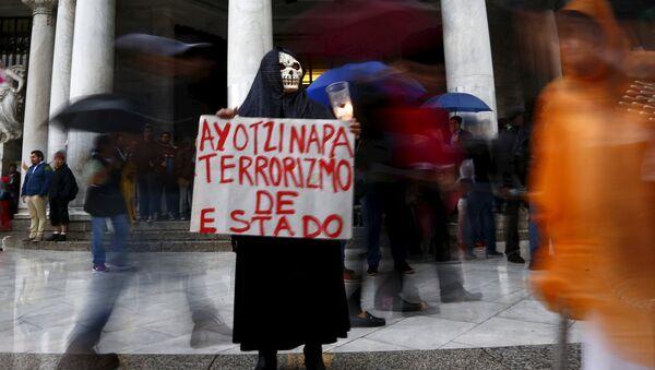 Protesta en México - Sputnik Mundo