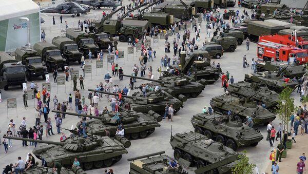 Foro técnico-militar Army 2015, el 19 de junio, 2015 - Sputnik Mundo