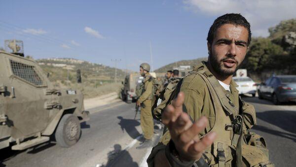 Soldado del ejército de Israel - Sputnik Mundo
