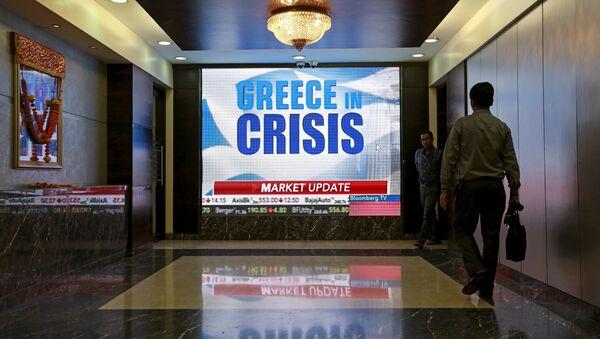 Сrisis de la deuda en Grecia - Sputnik Mundo