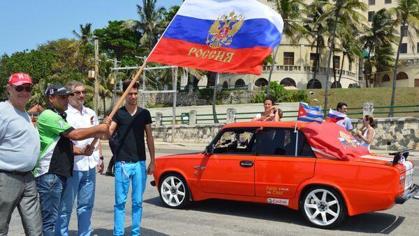Automóvil Lada en Cuba - Sputnik Mundo