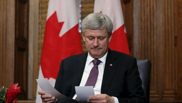 Stephen Harper, el primer ministro de Canadá - Sputnik Mundo