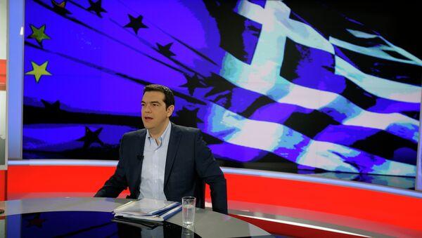 Alexis Tsipras, el primer ministro de Grecia - Sputnik Mundo