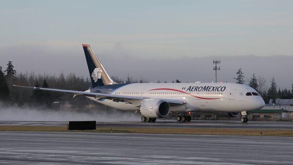 Boeing 787-8 de Aeroméxico - Sputnik Mundo