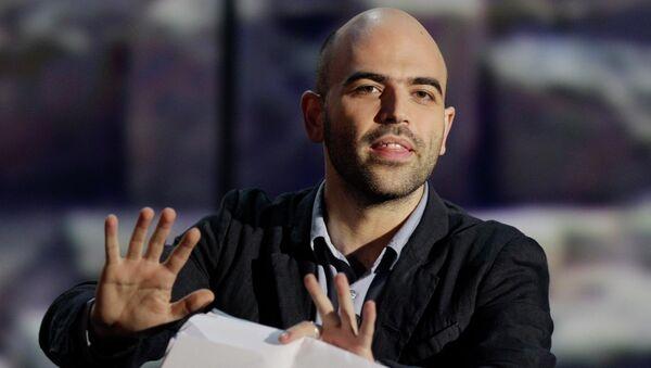 Roberto Saviano, escritor italiano - Sputnik Mundo