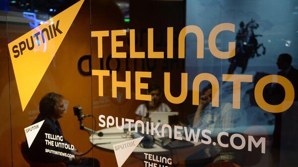 El logo de la agencia Sputnik - Sputnik Mundo