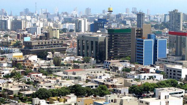 Lima, Peru Skyline - Sputnik Mundo