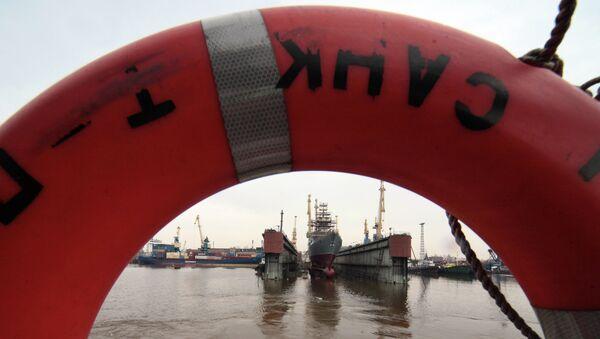 Planta de la construcción naval Severnaya Verf - Sputnik Mundo