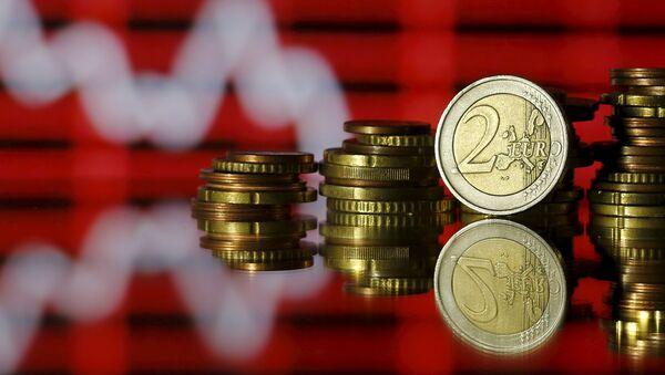 Monedas del euro - Sputnik Mundo