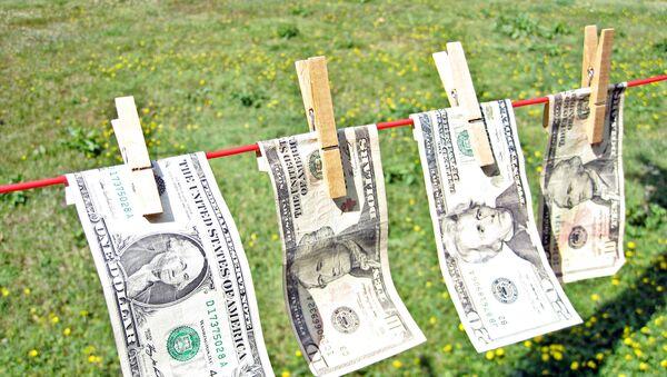 Billetes de dollar - Sputnik Mundo
