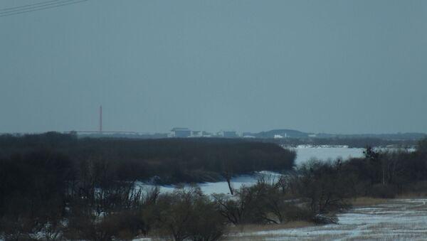 Pueblo fronterizo chino frente al pueblo ruso Kazakevichevo - Sputnik Mundo