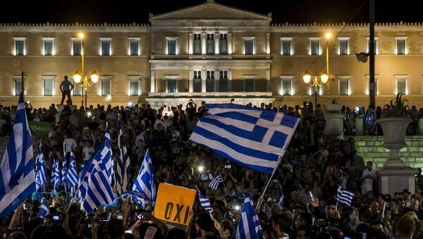 Referéndum en Grecia - Sputnik Mundo