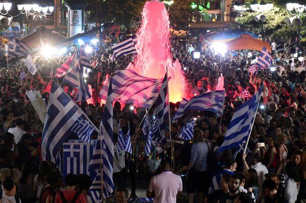Los griegos dicen 'No' a las medidas de austeridad - Sputnik Mundo