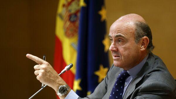 Luis de Guindos, exministro español de Economía - Sputnik Mundo
