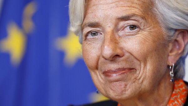 Christine Lagarde, directora del Fondo Monetario Internacional - Sputnik Mundo