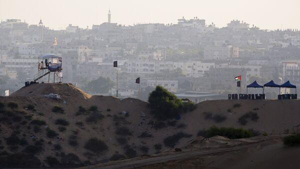 Situación en Gaza (archivo) - Sputnik Mundo