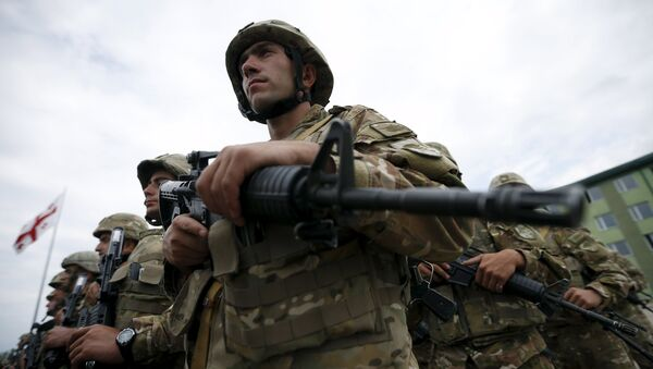 Los ejercicios Agile Spirit de la OTAN comienzan en Georgia - Sputnik Mundo
