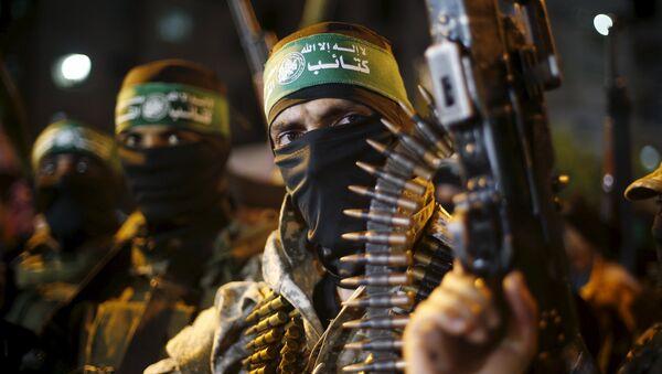Milicianos de Hamás - Sputnik Mundo