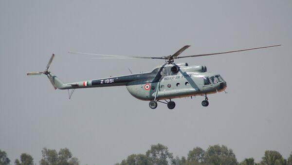 Helicóptero Mi-8 de Fuerzas Aéreas de India - Sputnik Mundo