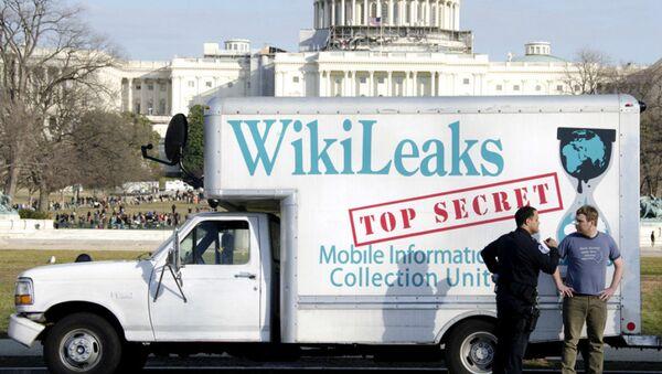 Vehículo de Wikileaks - Sputnik Mundo