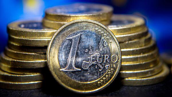Monedas de Euro - Sputnik Mundo