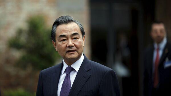 Wang Yi, ministro de Asuntos Exteriores de China - Sputnik Mundo