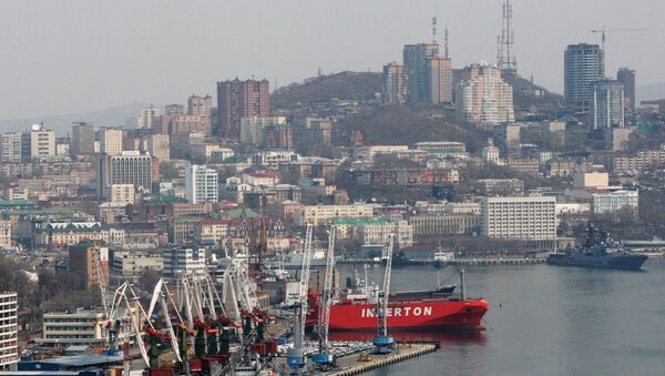 Puerto comercial de Vladivostok - Sputnik Mundo