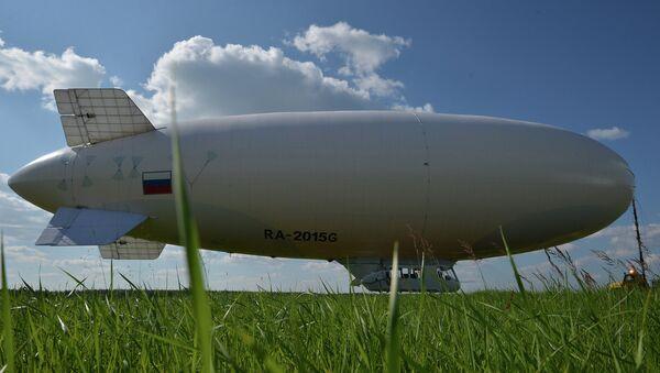 Dirigible ruso AU-30 - Sputnik Mundo