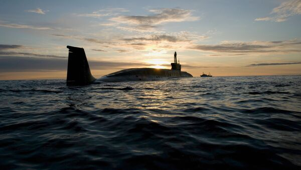 Submarino nuclear ruso Yuri Dolgoruki (archivo) - Sputnik Mundo