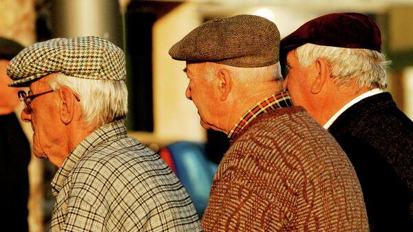 Ancianos (imagen referencial) - Sputnik Mundo