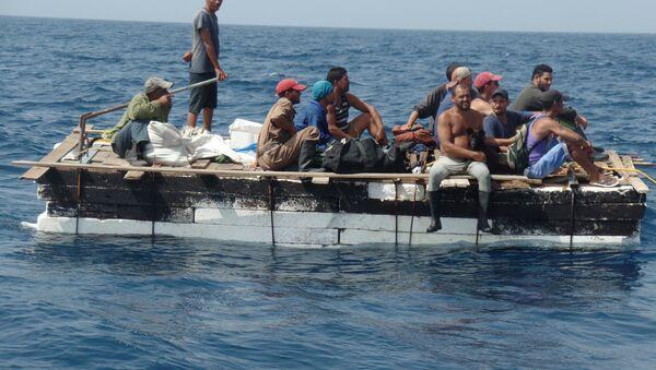 Inmigrantes cubanos - Sputnik Mundo