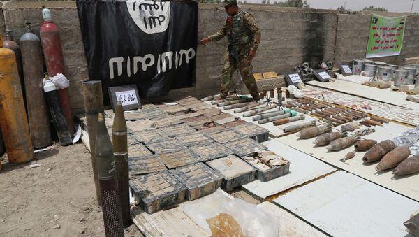 Armas del Estado Islámico - Sputnik Mundo