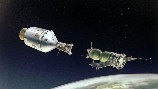 Soyuz-Apolo: comienzo de la cooperación en el espacio - Sputnik Mundo
