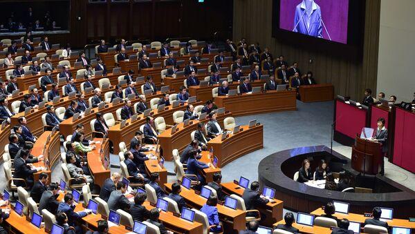 Asamblea Nacional de Corea del Sur - Sputnik Mundo